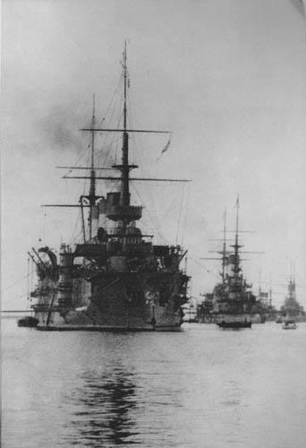 Корабли Второй Тихоокеанской эскадры